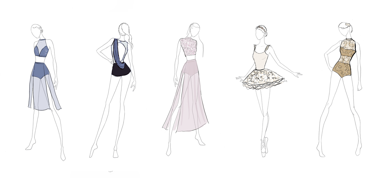 dance costume illustration