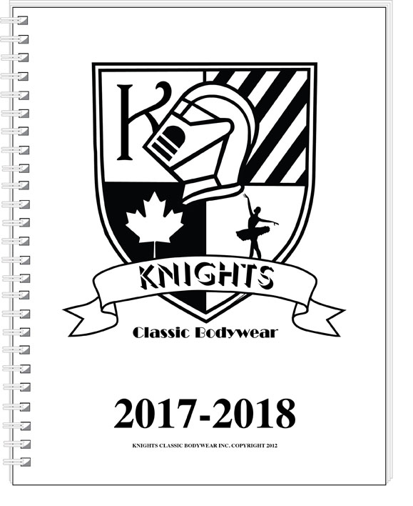 Knights Classic Bodywear technical catalogue